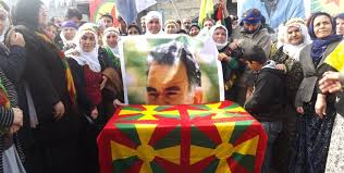 anf öcalan s birthday celebrated in amara where he was born