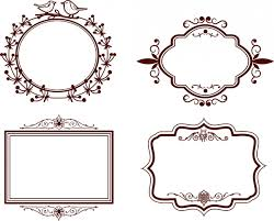 photoshop shapes frame corners free vector 15 266 free