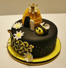 bumble bee fondant cake yelp