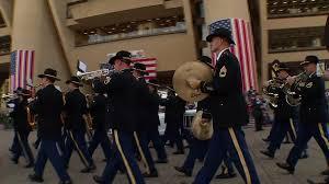 dallas veterans day parade honors gulf war vets nbc 5 dallas