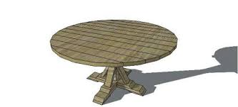 love the base free furniture plans to build a round provence beam