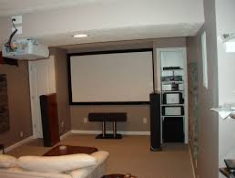 decorations living room idea in basement with white decoration
