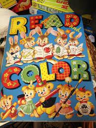 c dianne zweig kitsch u0027n stuff collecting vintage coloring books
