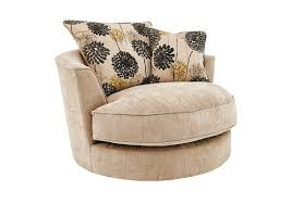Swivel Cuddle Chair by Tangier Fabric Snuggler Swivel Armchair Furniture Village
