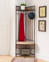 corner bench for entryway corner hall tree entryway bench with