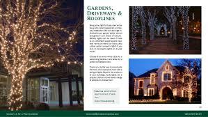 christmas decoration service brochure
