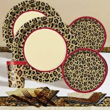 leopard print party supplies 17 best images about addyson turns seven on snow