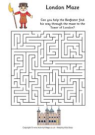 printable mazes kids