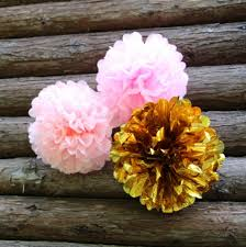 where to buy black tissue paper 2017 wholesale 10 inch pink gold tissue paper poms medium paper