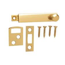 Door Bolts Brass Surface Bolts Door Security The Home Depot