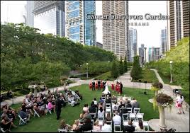 outdoor wedding venues chicago beautiful outdoor wedding venue chicago cancer survivor s garden