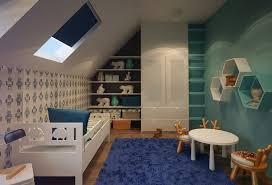 chambre enfant comble papier peint pour chambre bebe fille 4 chambre enfant sous les