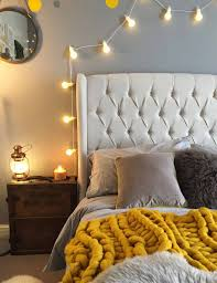 fairy lights in bedroom and twinkly ways to light up your home