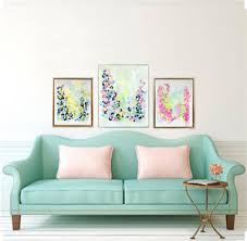 abstract paintings by atlanta based artist kristin cooney