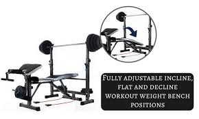 Home Gym Weight Bench Multi Station Home Gym Weight Bench Press Leg Equipment Set