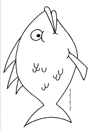 fish colouring pages coloring