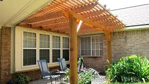 Roof Trellis How Much Does It Cost To Build A Pergola Angie U0027s List