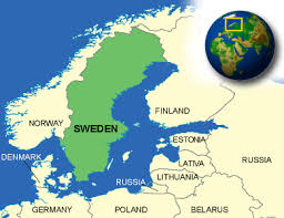 map of sweden map of sweden terrain area and outline maps of sweden