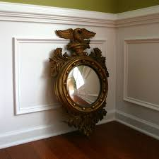 federal style furnishings vintage federal style convex eagle