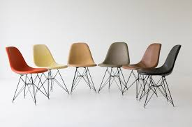 charles ray eames eiffel base dining chairs herman miller 08