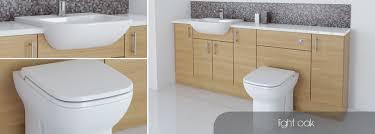 Bathroom Fitted Furniture Bathcabz Bathroom Fitted Furniture Light Oak Furniture