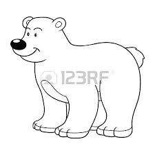 coloring book bear royalty free cliparts vectors stock