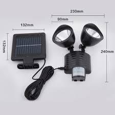 solar powered sensor security light 22 led solar powered pir motion sensor security light milnerton