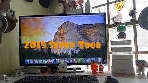 ultimate geek desk setup tour 2015 youtube