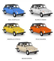 volkswagen type 181 thing thesamba com gallery original colors 1974 mexican vw safari