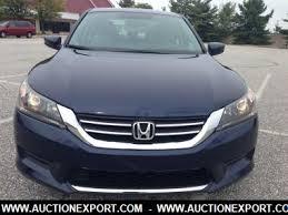 honda accord used 2013 used 2013 honda accord lx sedan 4 doors car for sale at auctionexport