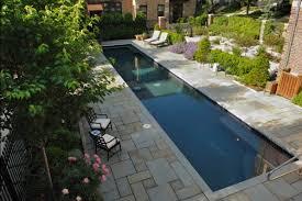 Lap Pool Design LandCrafters Inc New Berlin WI Outdoor Patio - Backyard lap pool designs