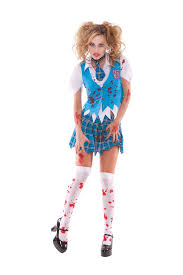 Zombie Costume Blood Splattered Zombie Costume Stockings U2013 Spot Lingerie