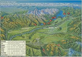 Jackson Hole Map 11 Great Hikes In Jackson Hole Skinny Skis Jackson Hole