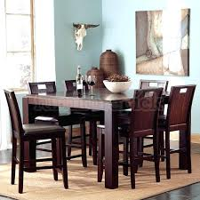 tall round dining table set tall dining table set elegant dining room design with tall square