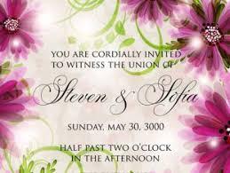 flower wedding invitation card free vectors ui download