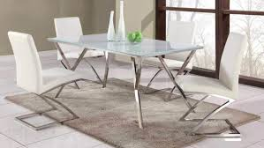 steel dining table set enchanting stainless steel dining table set home design modern