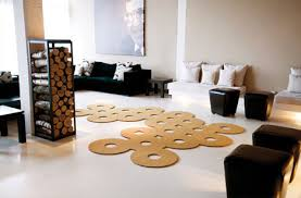 Modern Rug Designs Cutting Rugs Creatively Shaped Area Carpet Designs
