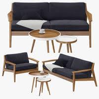 sofa scandinavian 3d models for download turbosquid
