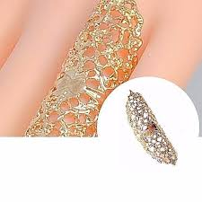 long gold rings images Long gold filigree statement ring wear with love jpg