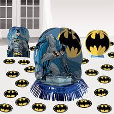 Batman Table Decorations Batman Party Supplies Woodies Party