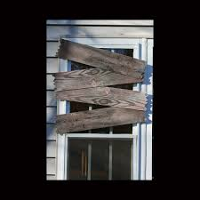 palmers haunted window boards old wooden effect haunted house