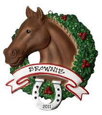 personalised ornaments for horses