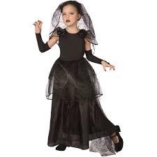 Bride Halloween Costume Light Dark Bride Child Halloween Costume Walmart