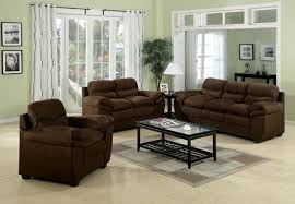 Acme Living Room Furniture by Standford Easy Rider Microfiber Living Room Set In Chocolate