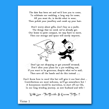wedding cash money voucher request poems for invites cheap u0026 funny