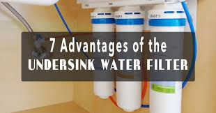water filter under sink 7 advantages of the undersink water filter