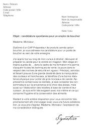 lettre de motivation cuisine collective lettre de motivation vendeuse boucherie 28 images lettre de