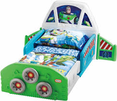 Little Tikes Toy Chest Disney Toy Story Buzz Lightyear Spaceship Toddler Junior Bed Usa