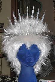 Ice Queen Halloween Costume Ideas Icicle Crown White Wig Ice Fairy Costume Glue Narnia