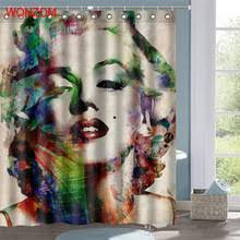 Marilyn Monroe Bathroom Set Popular Monroe Shower Curtain Buy Cheap Monroe Shower Curtain Lots